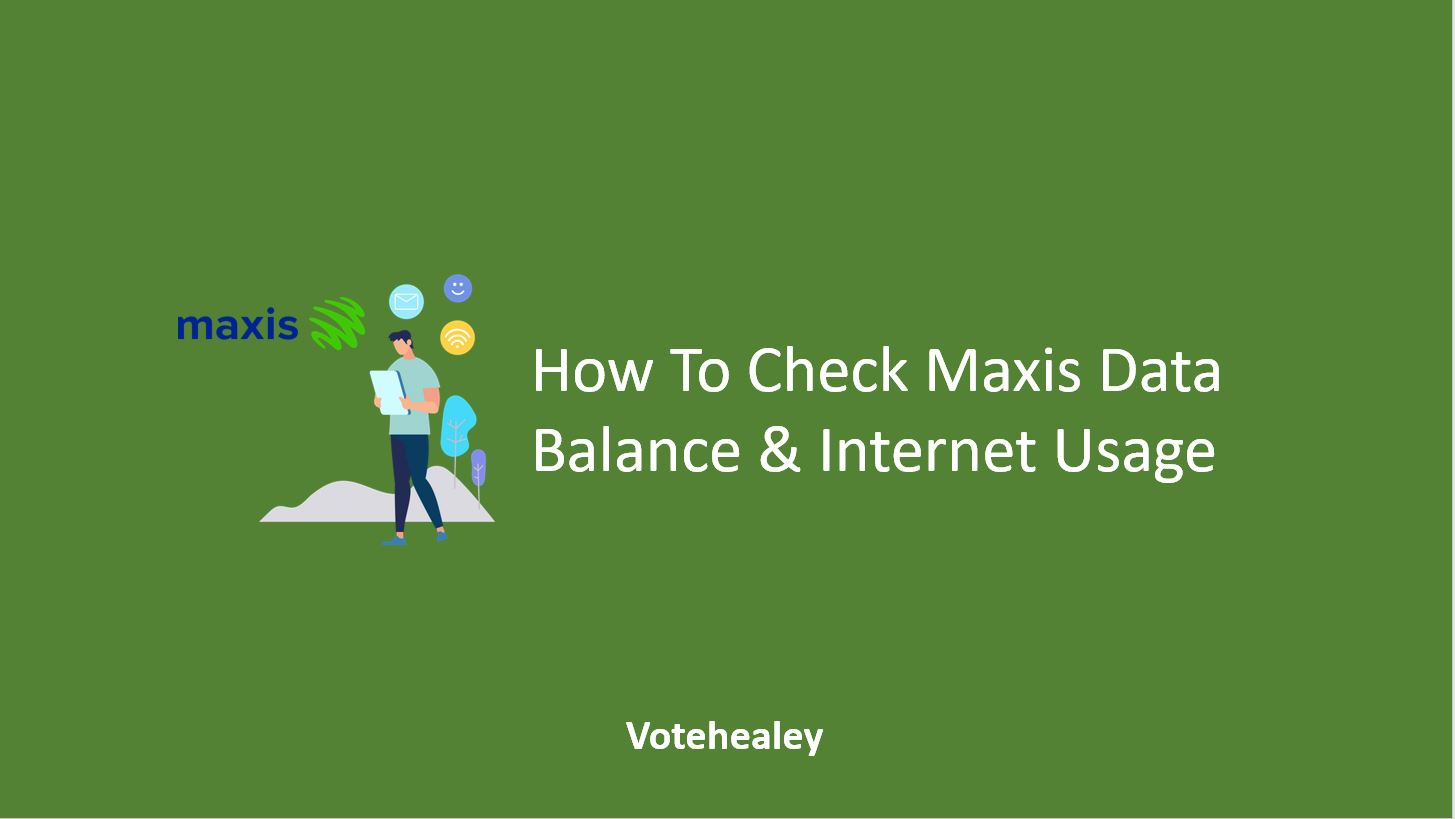 How To Check Maxis Data Balance