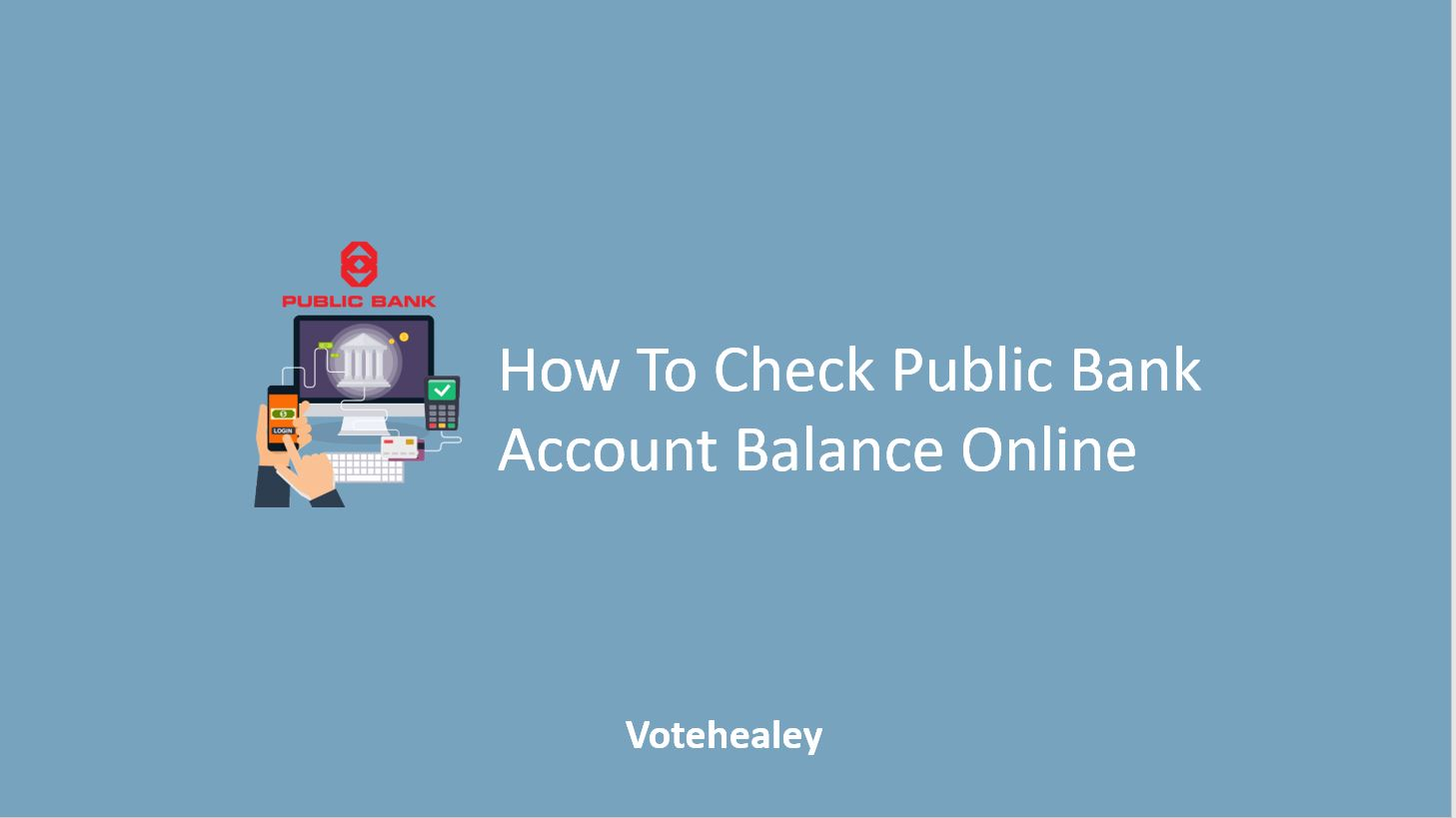 How To Check Public Bank Account Balance Online