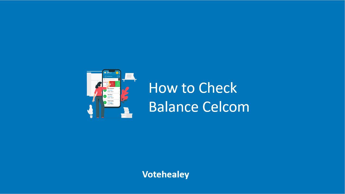 How to Check Balance Celcom