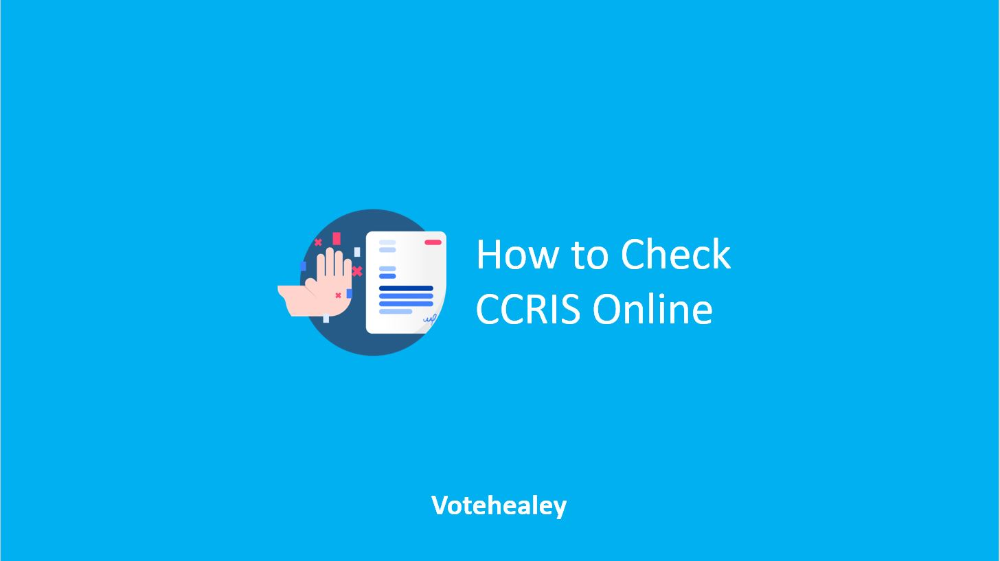 How to Check CCRIS Online