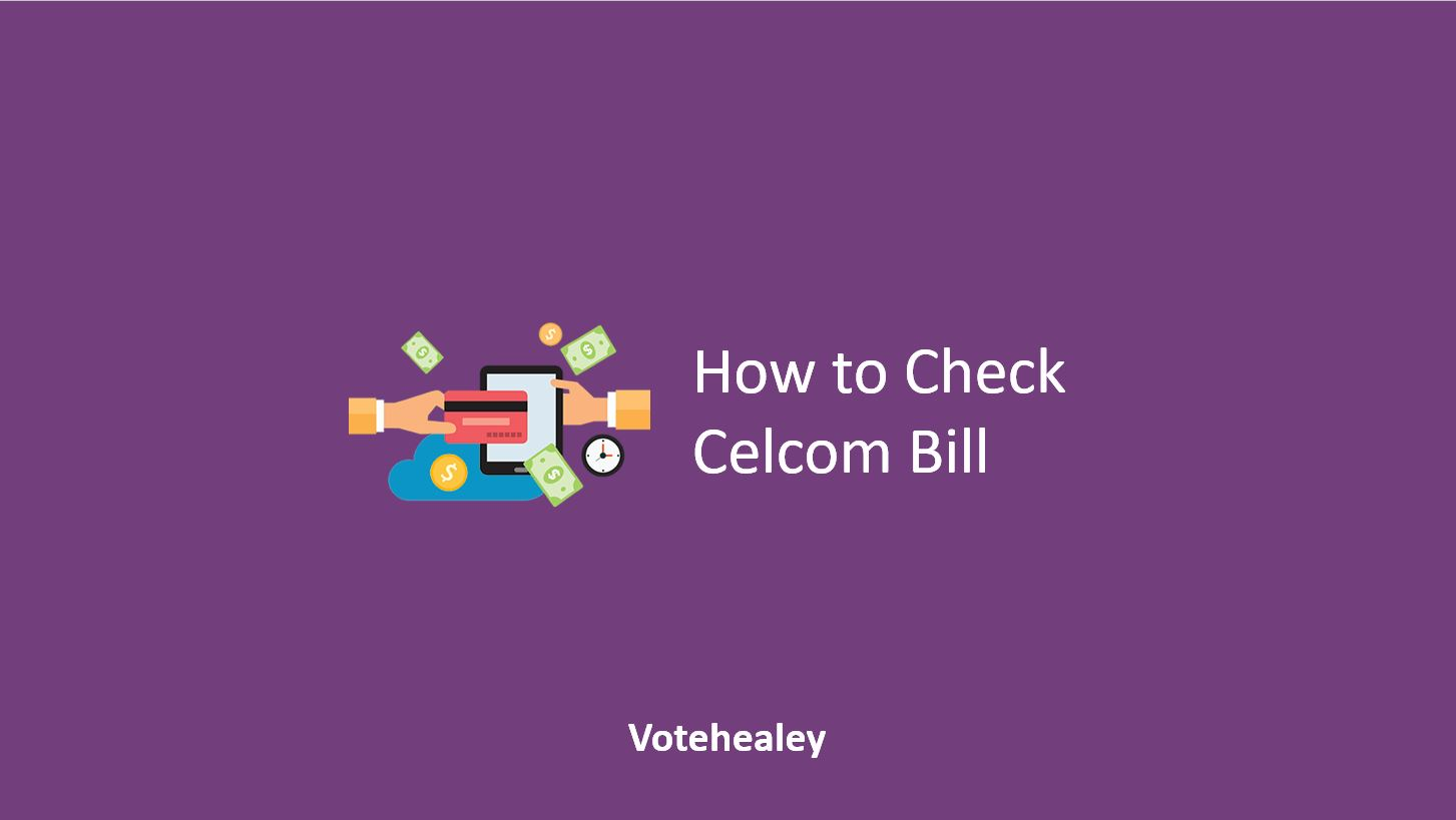 How to Check Celcom Bill