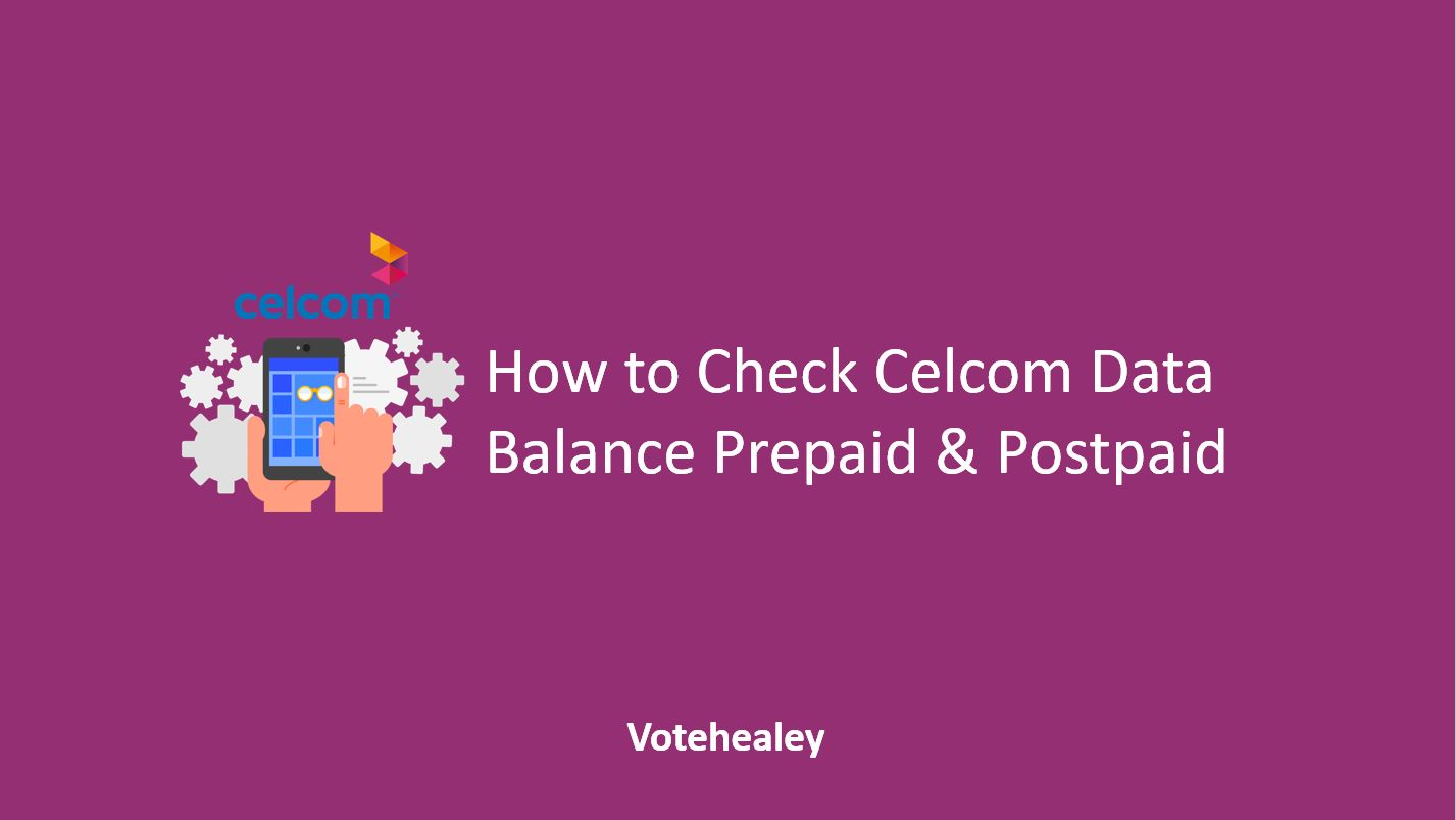 How to Check Celcom Data Balance