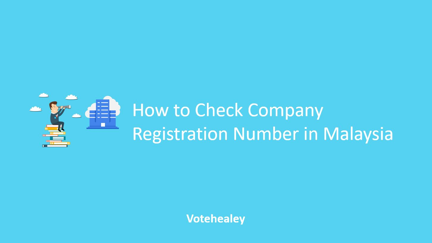 How to Check Company Registration Number in Malaysia