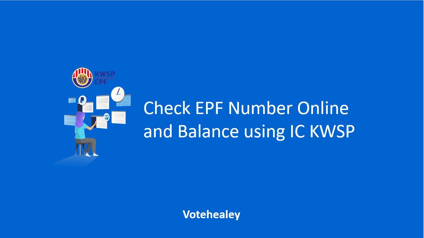 How to Check EPF Number