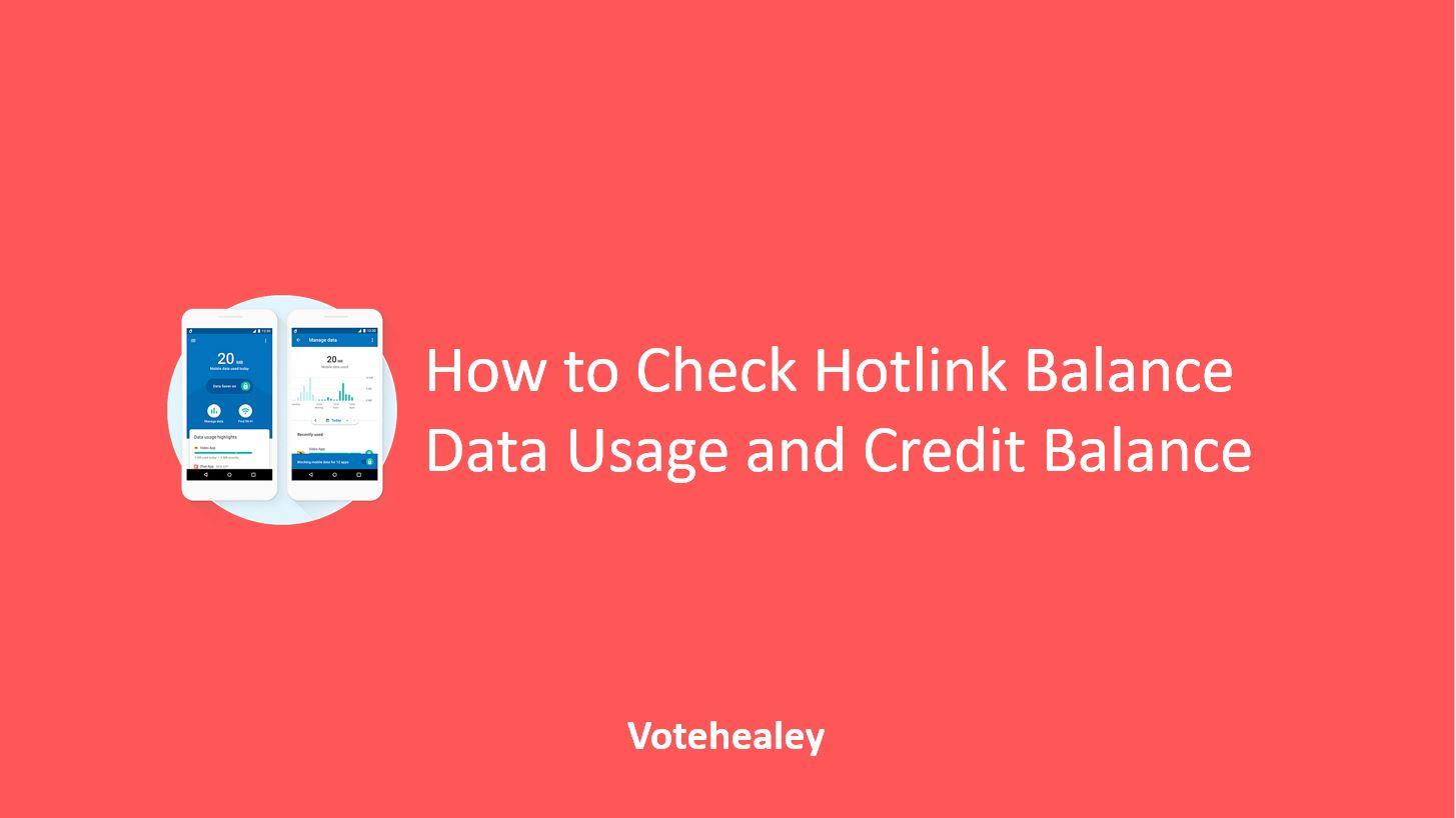 How to Check Hotlink Balance