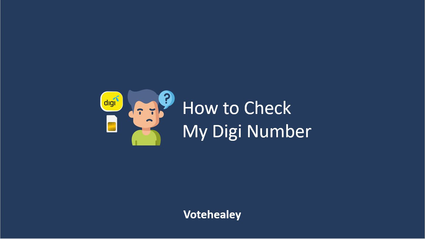 How to Check My Digi Number