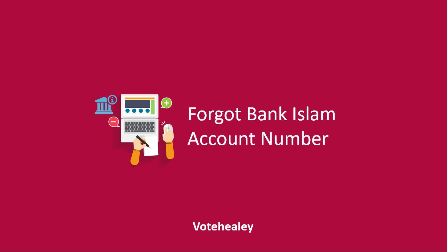 Forgot Bank Islam Account Number
