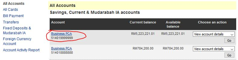 HOW TO CHECK MY MAYBANK ACCOUNT NUMBER