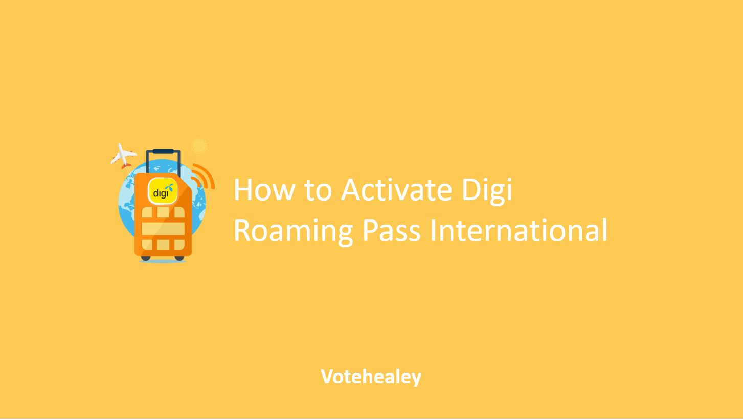 How to Activate Digi Roaming