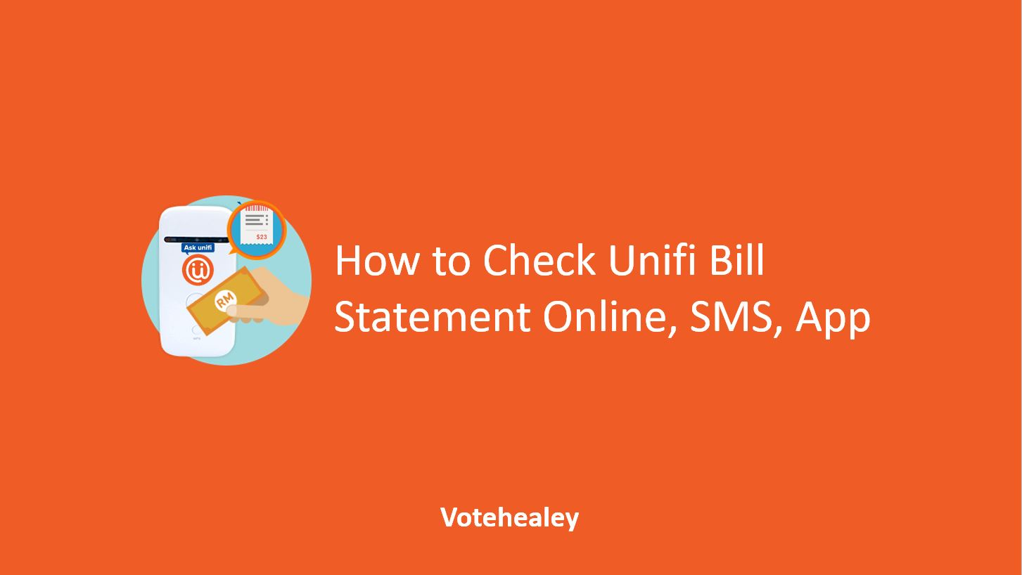 How to Check Unifi Bill