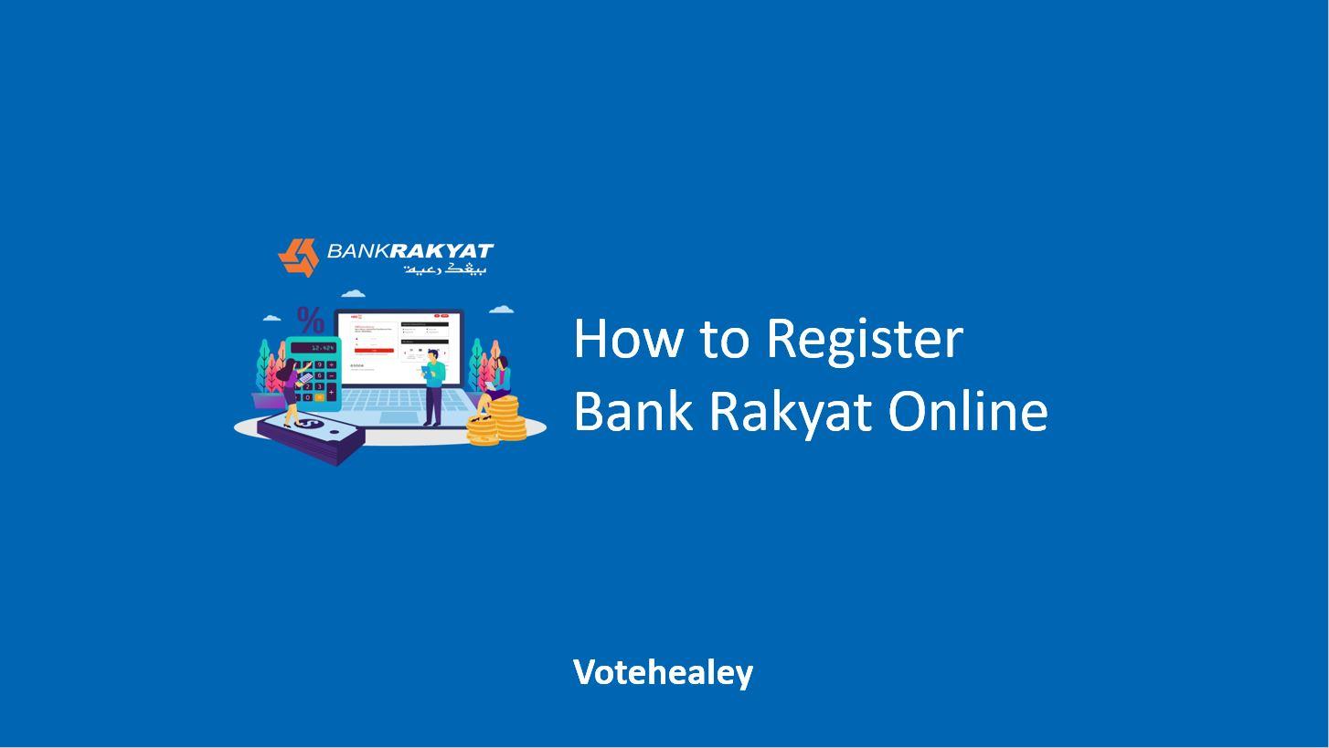 How to Register Bank Rakyat Online