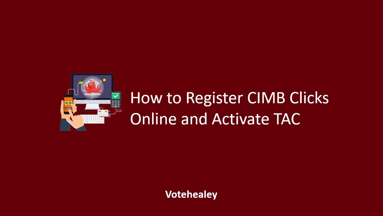 How to Register CIMB Clicks