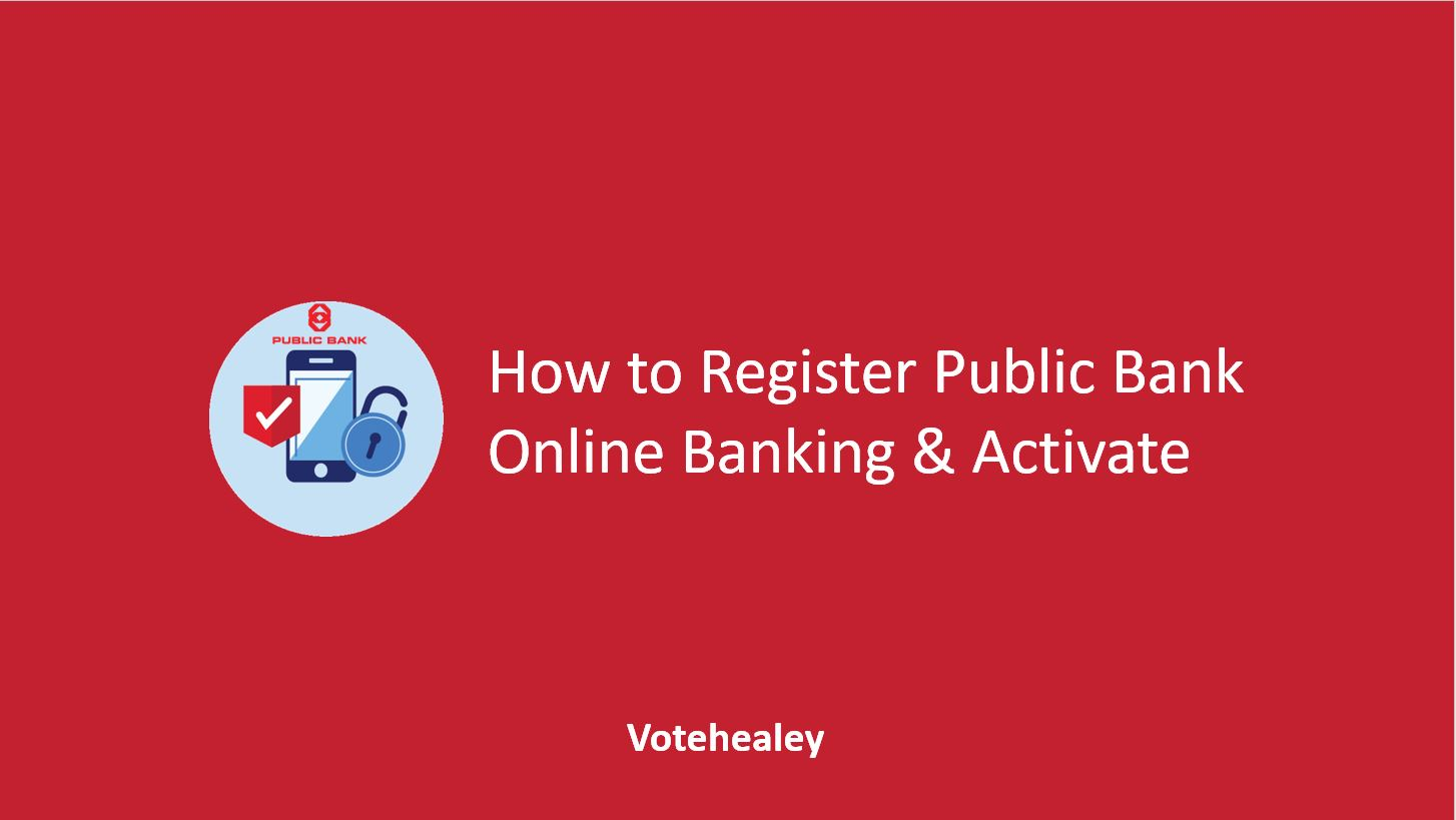 How to Register Public Bank Online Banking