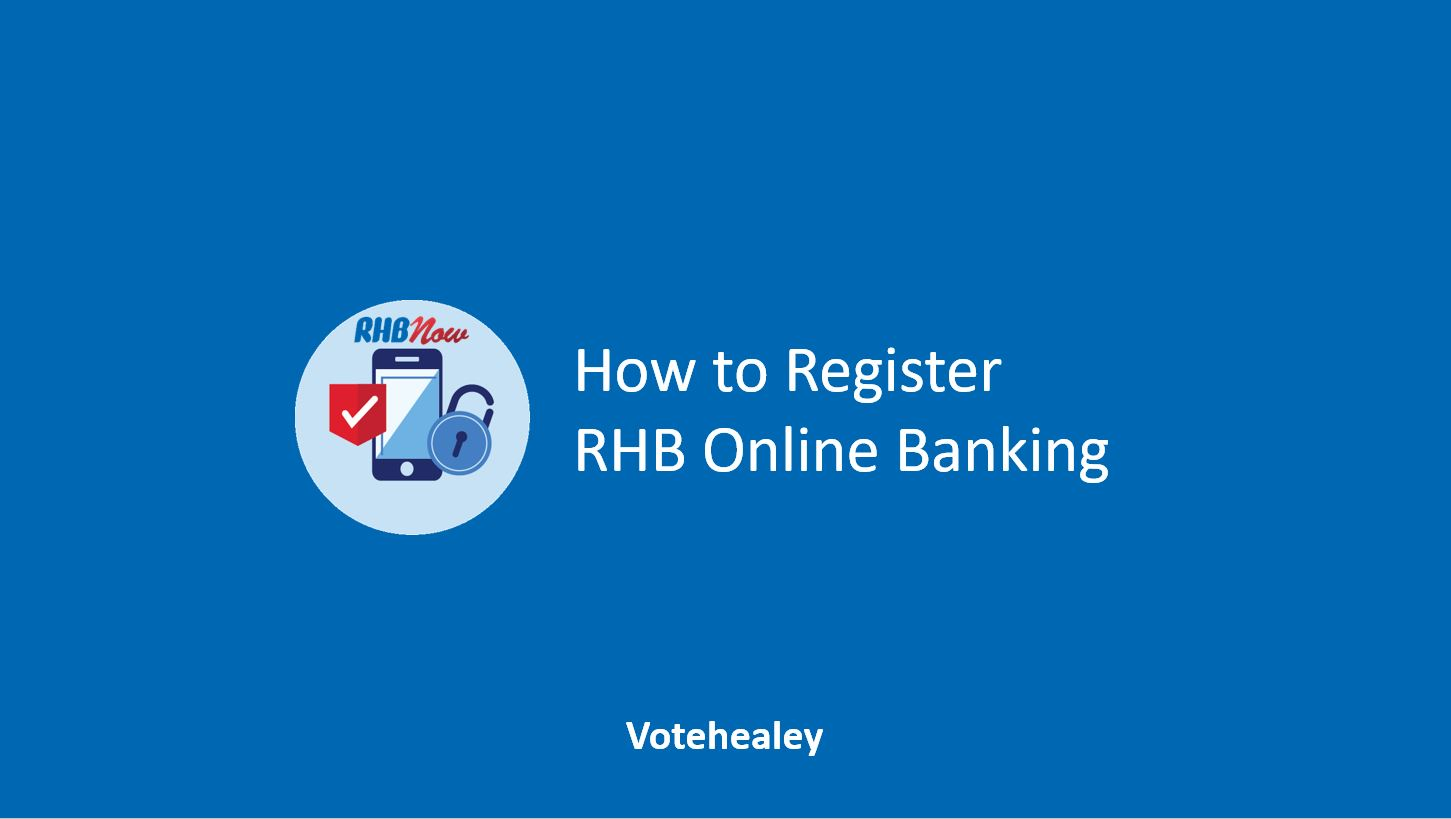How to Register RHB Online Banking