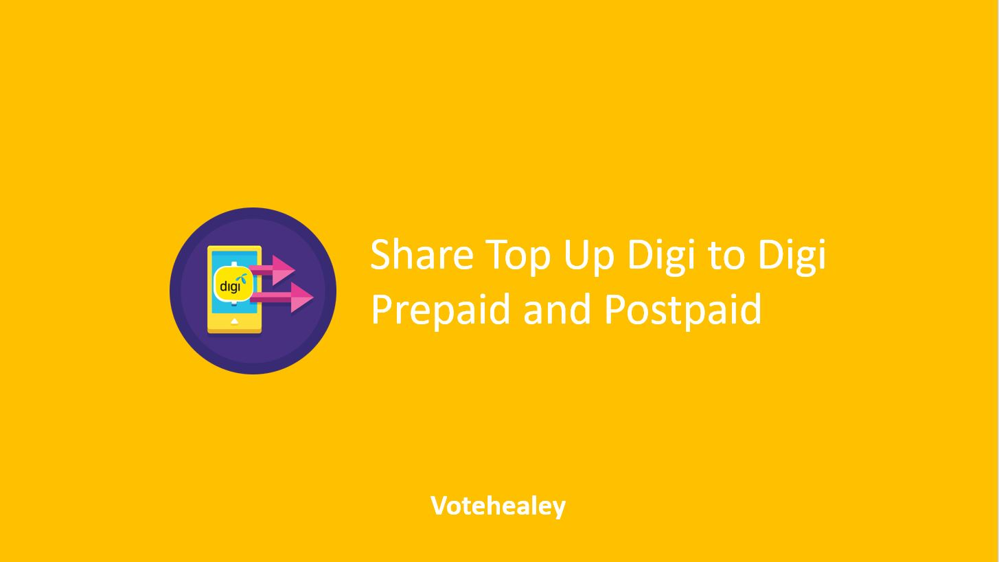 How to Share Top Up Digi to Digi