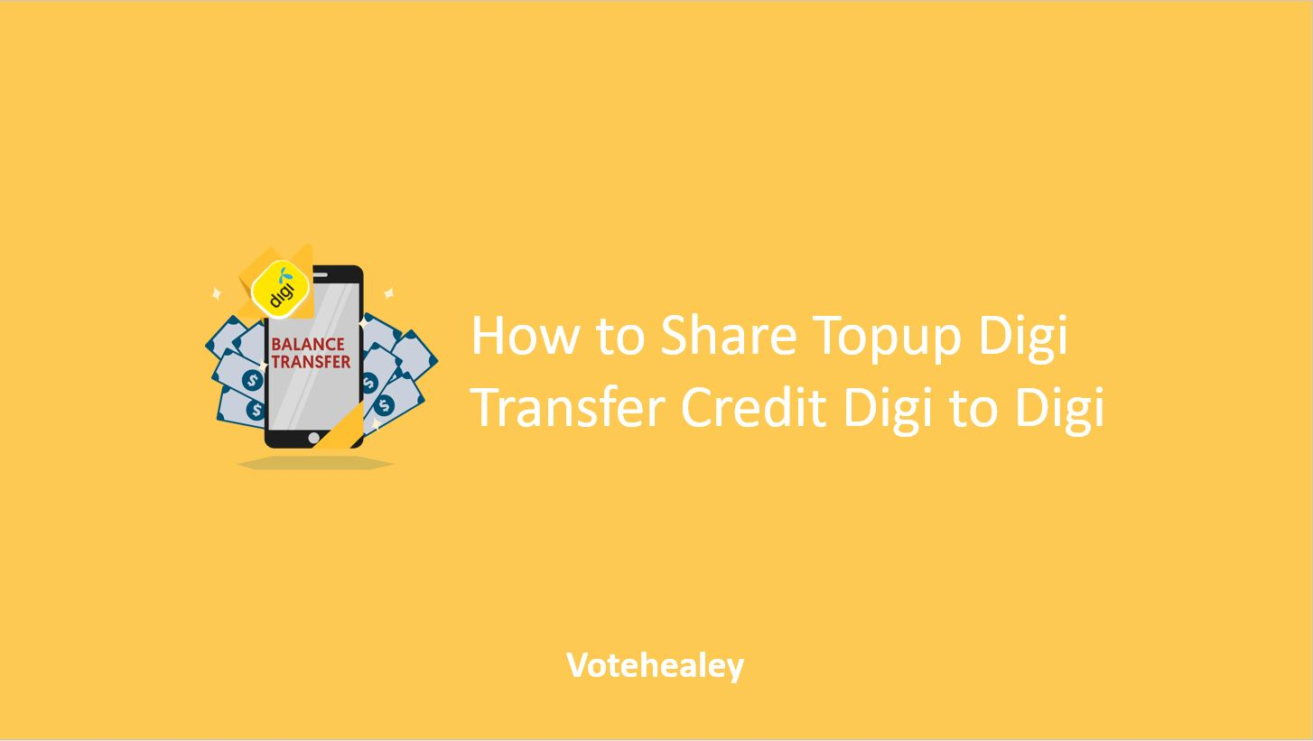 How to Share Topup Digi