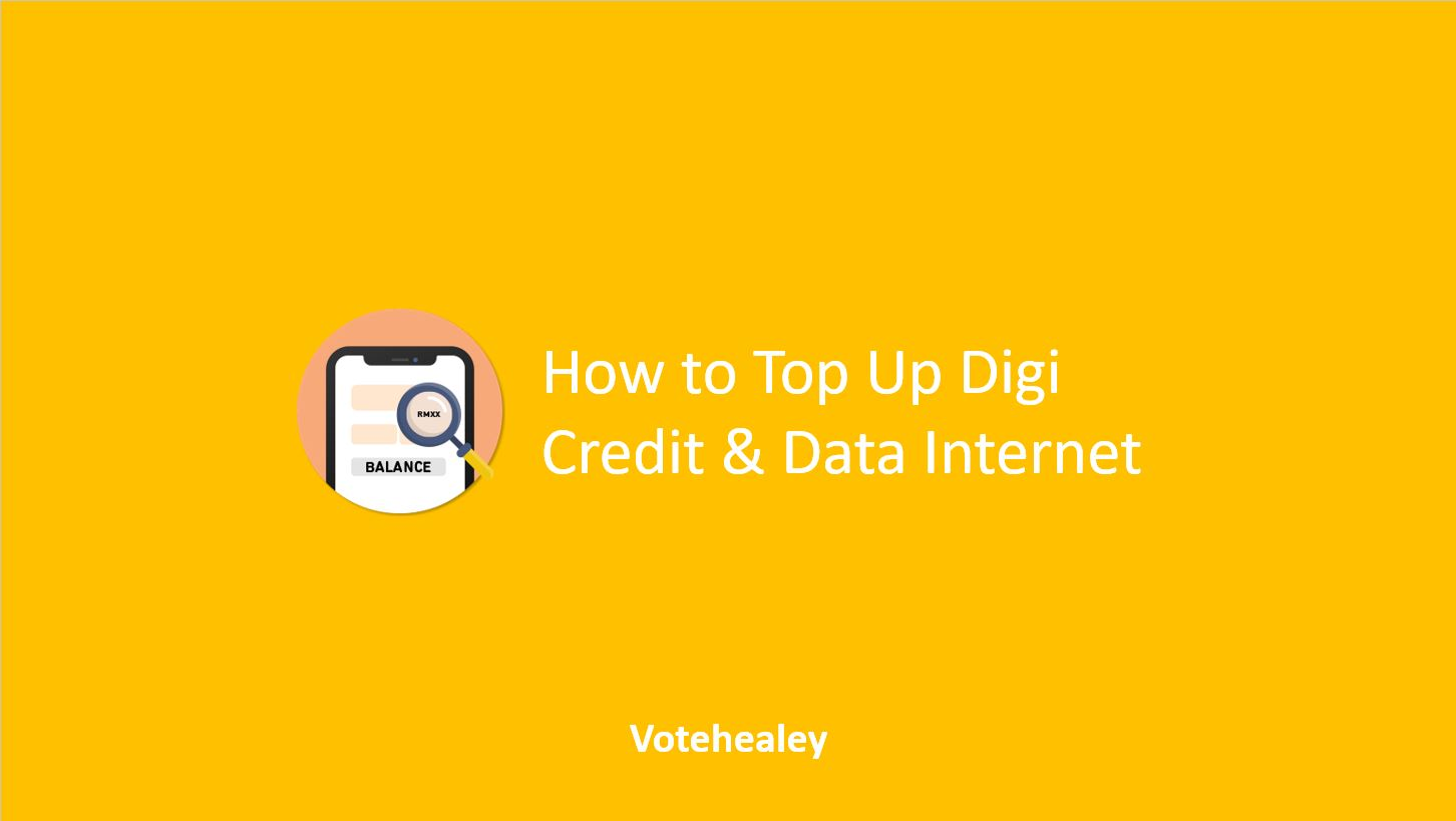 How to Top Up Digi