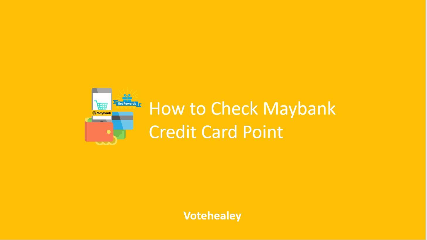 Maybank Credit Card Point