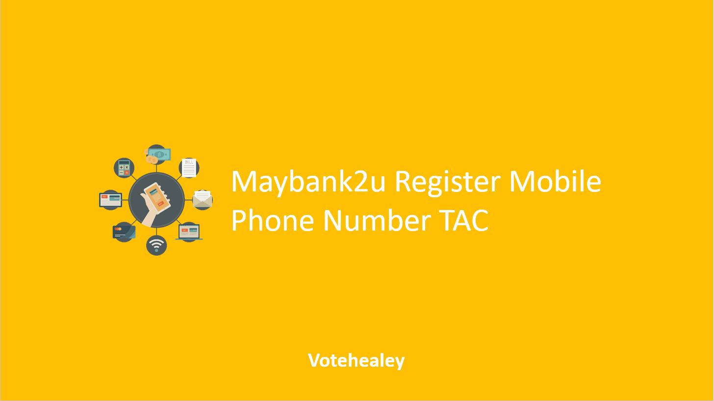 Maybank2u Register Mobile Phone
