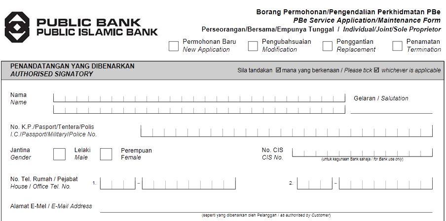 Public Bank Online Banking Register