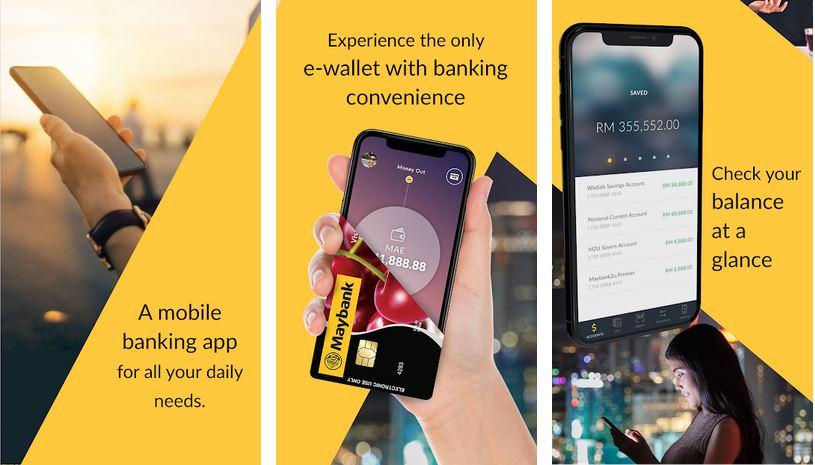 Quick Balance Maybank2u App