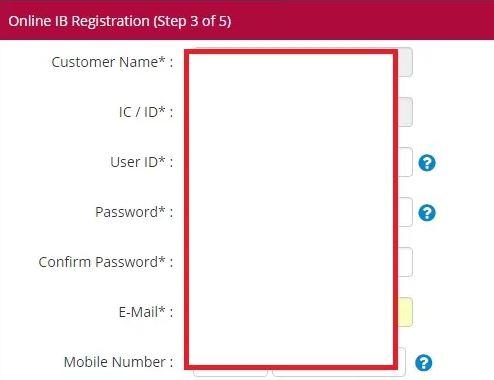 Register Bank Islam Online Internet Banking