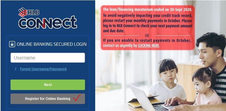 Register for Online Banking HLB