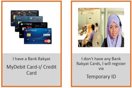Registration iRakyat without card