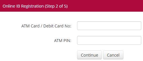Steps to register your Bank Islam online