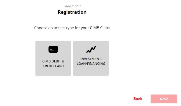 cimb clicks login register