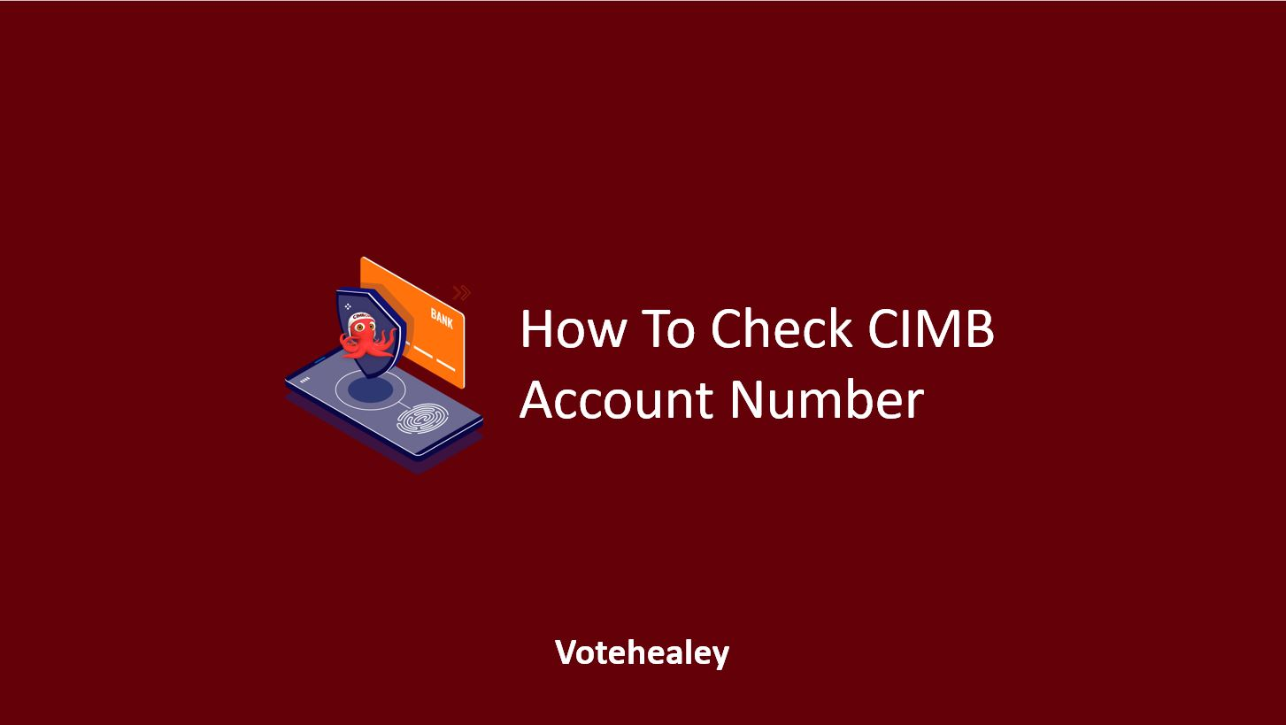 How To Check CIMB Account Number