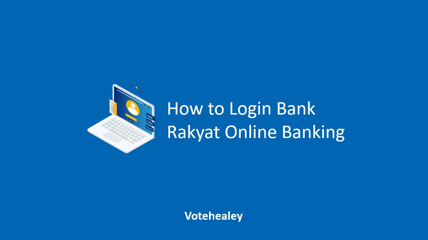 How to Login Bank Rakyat Online Banking