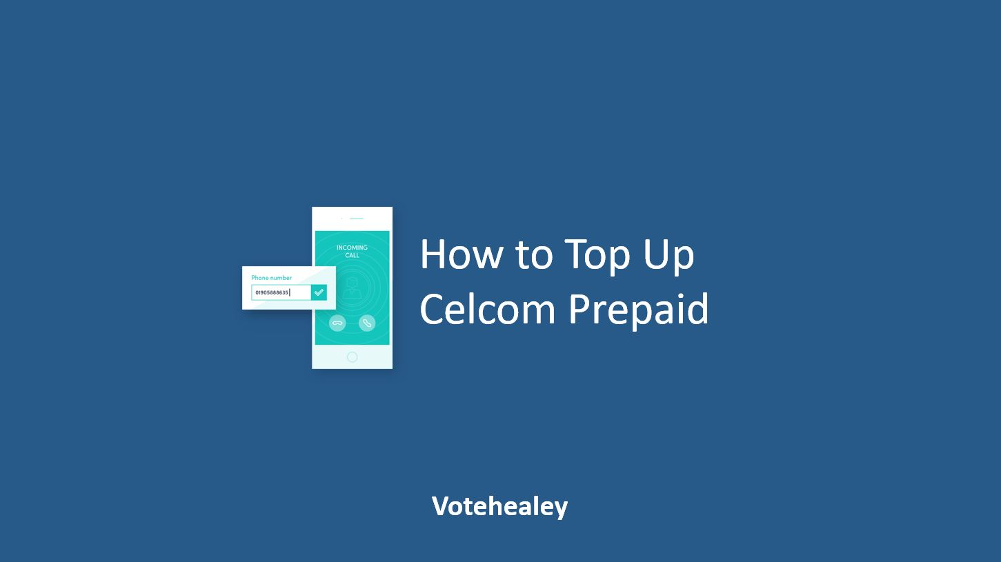 How to Top Up Celcom Prepaid