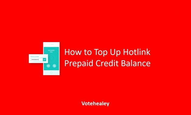 How to Top Up Hotlink