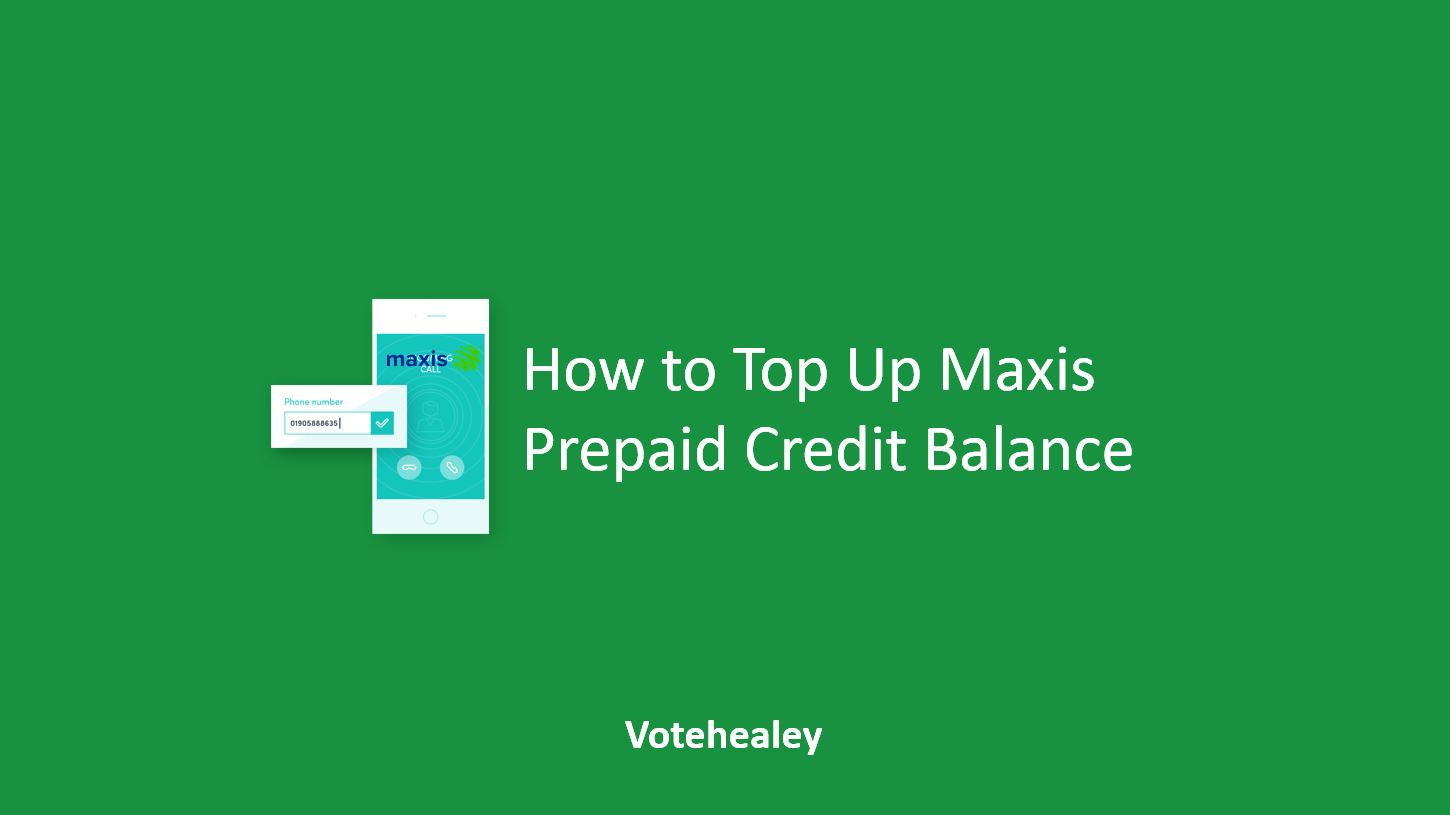 How to Top Up Maxis
