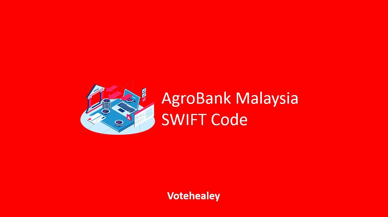 AgroBank Malaysia SWIFT Code