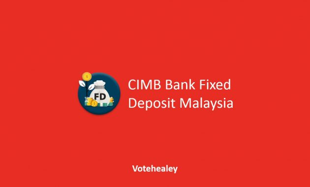 CIMB Bank Fixed Deposit Malaysia