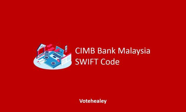 CIMB Bank Malaysia SWIFT Code