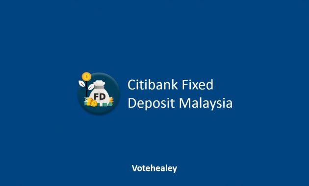 Citibank Fixed Deposit Malaysia