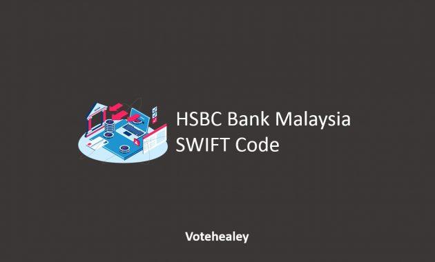 HSBC Bank Malaysia SWIFT Code