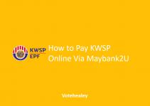 How to Pay KWSP Online Via Maybank2U
