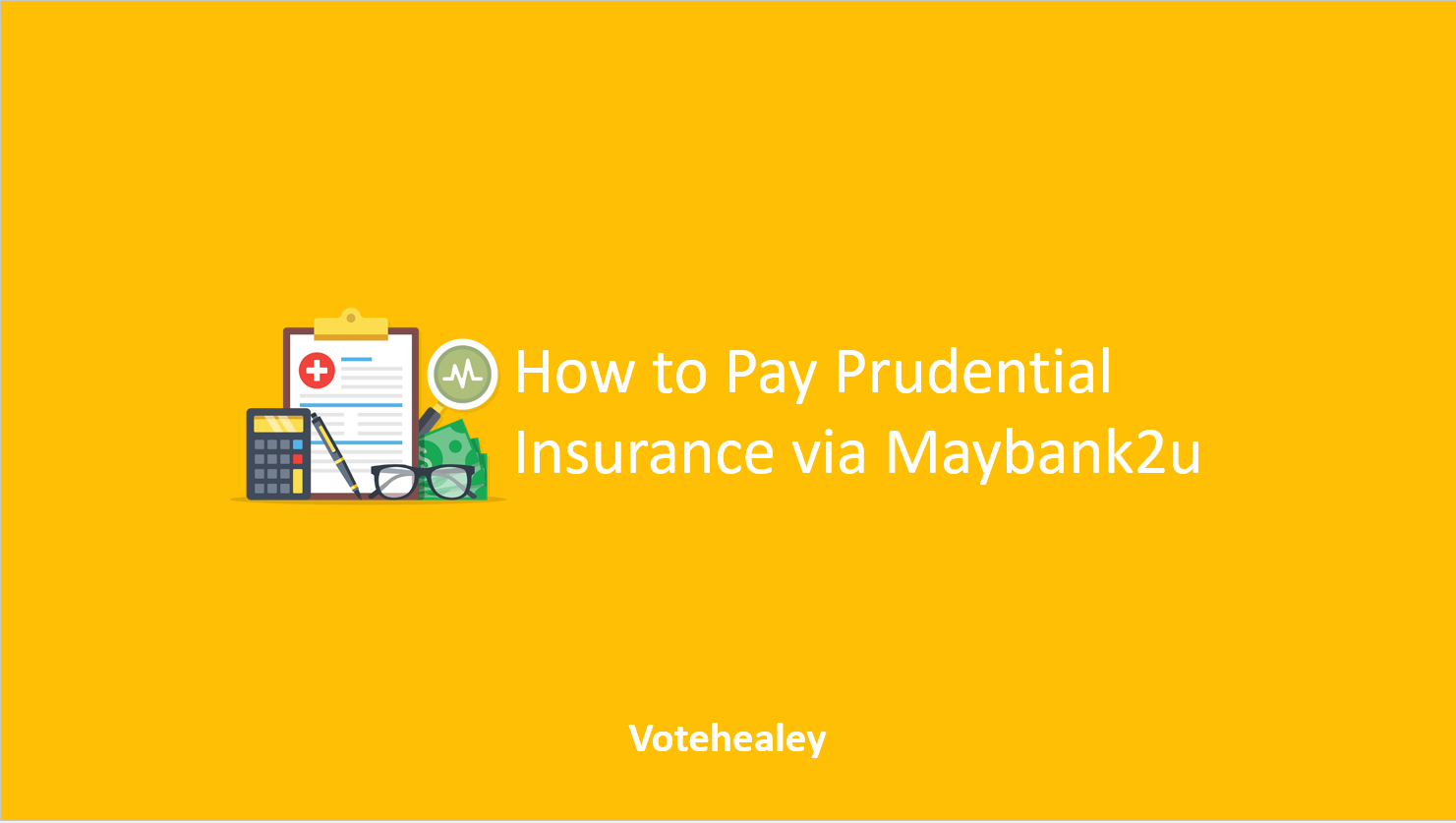 How to Pay Prudential Insurance via Maybank2u