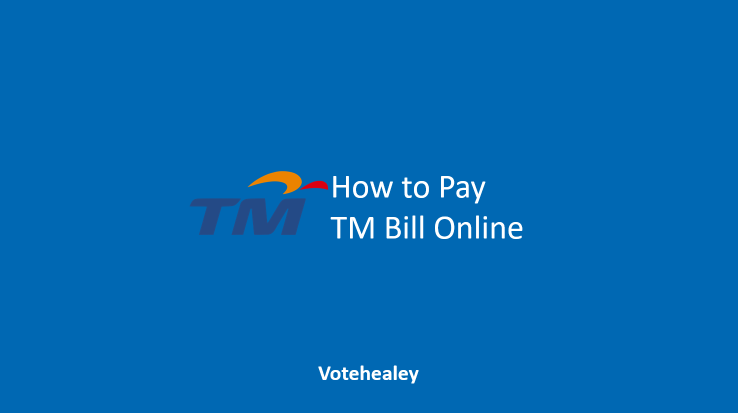 How to Pay TM Bill Online