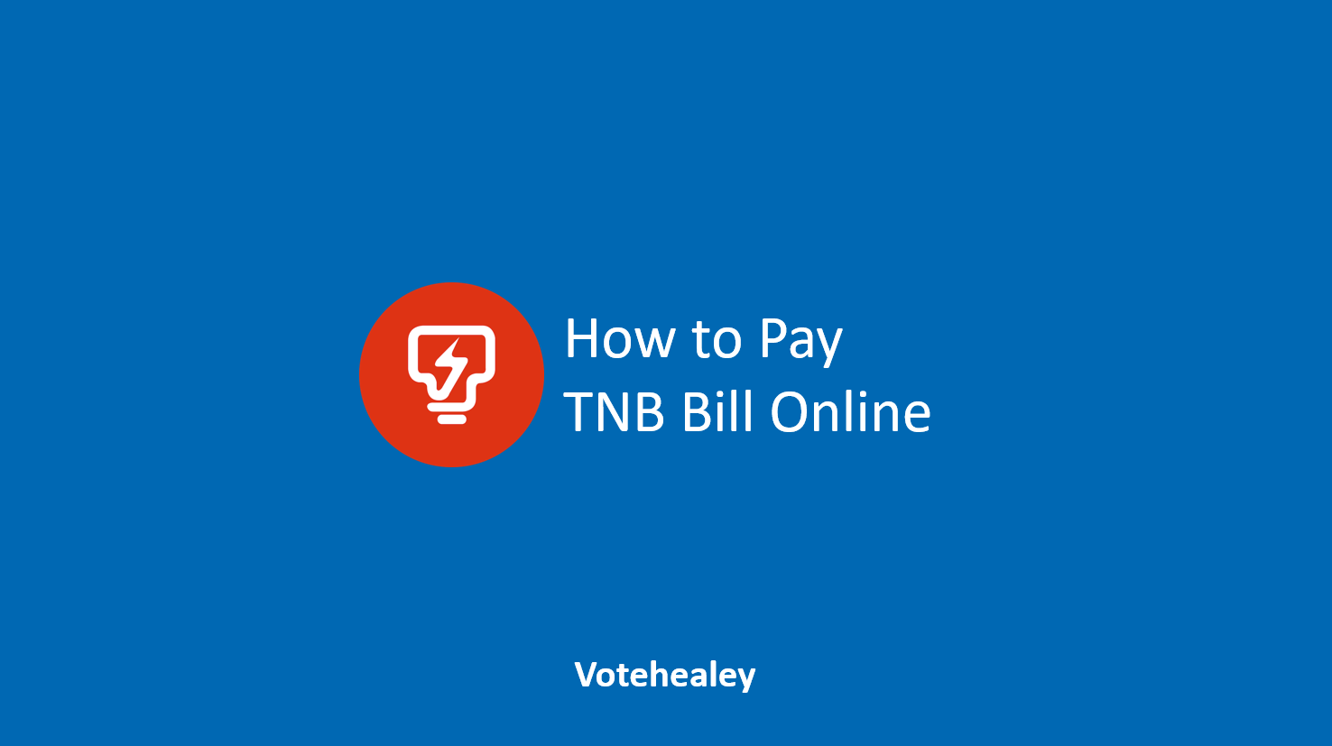 How to Pay TNB Bill Online