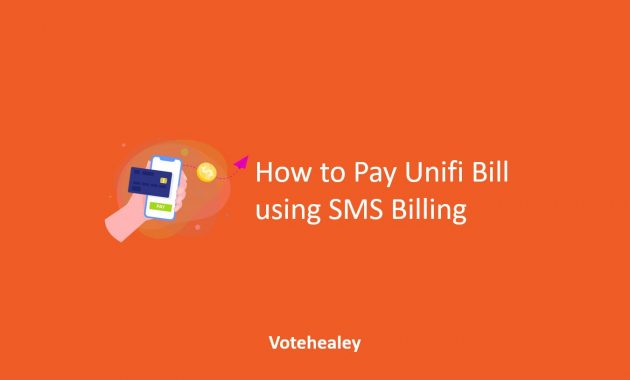 How to Pay Unifi Bill using SMS Billing