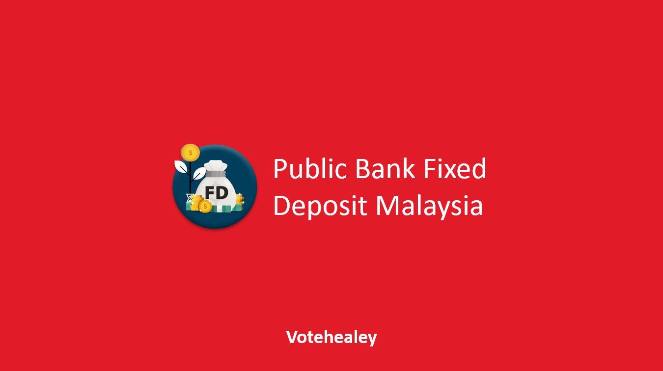 Public Bank Fixed Deposit Malaysia