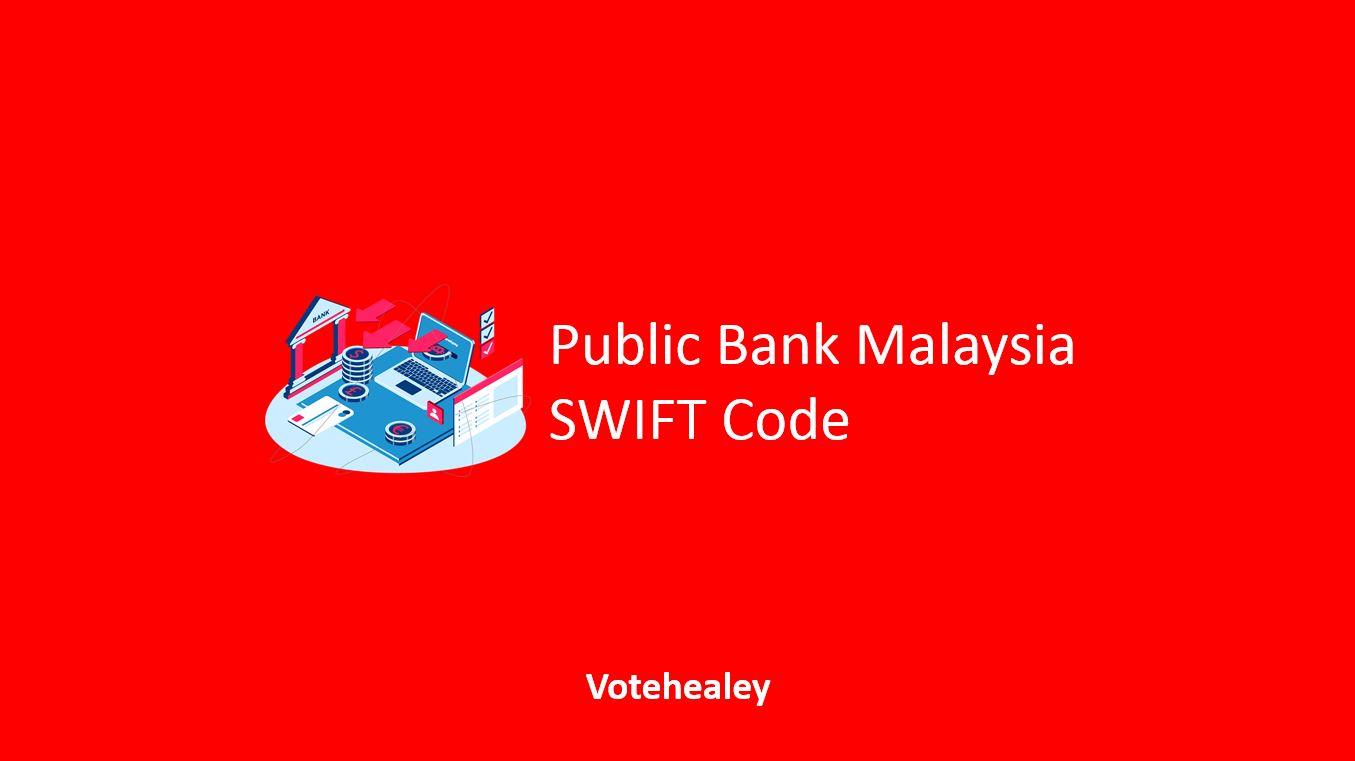 Public Bank Malaysia SWIFT Code