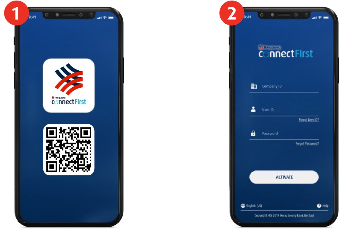 Activate Hong Leong Connect Mobile Banking