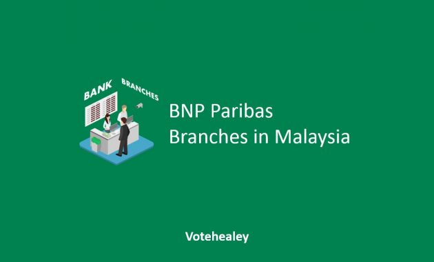 BNP Paribas Branches in Malaysia