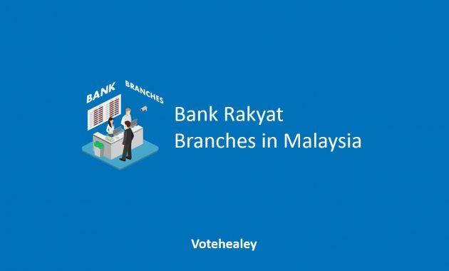 Bank Rakyat Branches in Malaysia